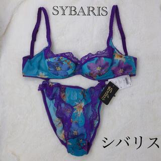 ラペルラ(LA PERLA)のSybaris シバリス インポートランジェリー ブラジャー&ショーツ(ブラ&ショーツセット)