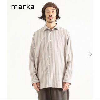 マーカ(marka)のmarka / マーカ : WIDE COLLAR SHIRTS strip(シャツ)