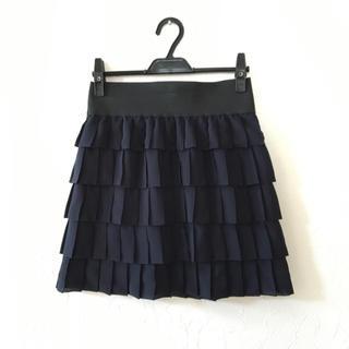 プーラフリーム(pour la frime)のpour la frimeフリルスカート(ひざ丈スカート)