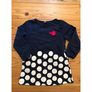 グラニフ(Design Tshirts Store graniph)の中古 きんぎょがにげた ワンピース 110(ワンピース)