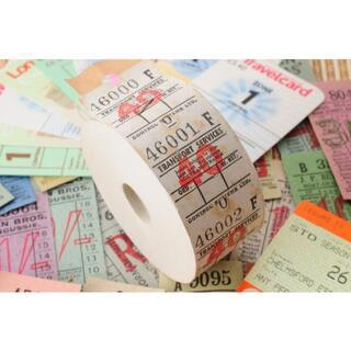 【オマケ満載・お得】◆海外 イギリス ヴィンテージ バス ロールチケット 40◆(印刷物)