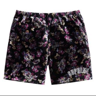 Supreme - 【新品タグ付】Supreme Floral Velour Short