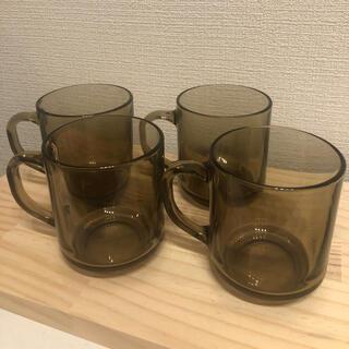 イッタラ(iittala)のお取り置き ビンテージフランス グラス マグカップ ティーカップ(グラス/カップ)