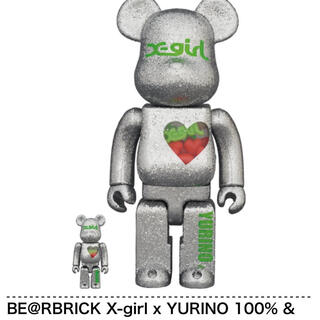 エックスガール(X-girl)のBE@RBRICK X-girl × YURINO(E-girls)(その他)