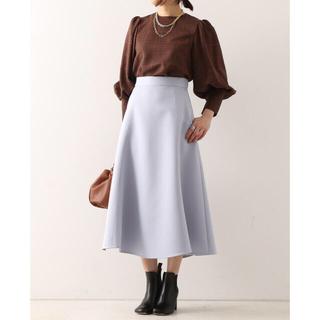 マルティニークルコント(martinique Le Conte)のマルティニーク スカート ブルー(ロングスカート)