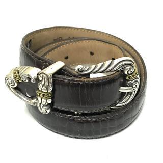 ジョンローレンスサリバン(JOHN LAWRENCE SULLIVAN)のBRIGHTON Design Leather Belt!(ベルト)