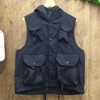 エンジニアードガーメンツ(Engineered Garments)のENGINEERES GARMENTS Field Vest-PC Poplin(ベスト)