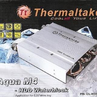 エイスース(ASUS)の新品 水冷クーラートレイ 3.5インチHDD 水枕 Thermaltake 銀(PCパーツ)