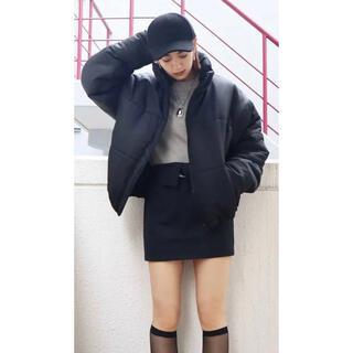 エモダ(EMODA)のEMODA スカート ブラック(ミニスカート)