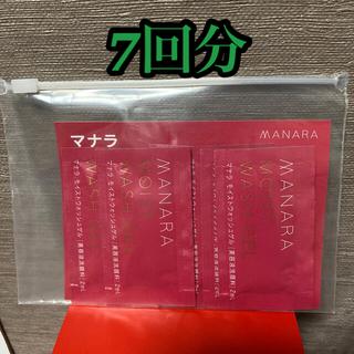 マナラ(maNara)のマナラ モイストウォッシュゲル 2ml 6回分(洗顔料)