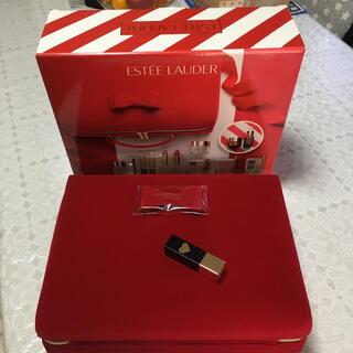 エスティローダー(Estee Lauder)のエスティローダー2020クリスマスコフレのバッグとリップスティック(その他)