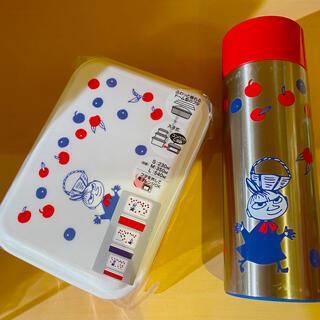 リトルミー(Little Me)の新品‼️2点セット • リトルミィ 3段ランチボックス & ステンレスボトル(弁当用品)