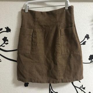 エモダ(EMODA)のEMODA チャコールタイトスカート(ミニスカート)