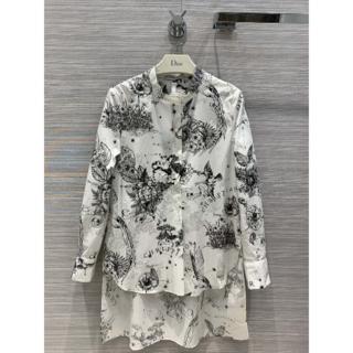 ディオール(Dior)の【Dior】プリント チュニック ロングシャツ(シャツ/ブラウス(長袖/七分))