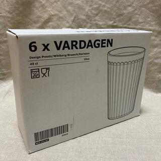 イケア(IKEA)のIKEA VARDAGEN 430ml イケア ヴァルダーゲン グラス(グラス/カップ)