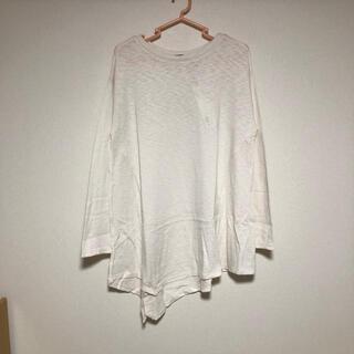 ヘザー(heather)のHeather イレヘムスラブロンT(Tシャツ(長袖/七分))