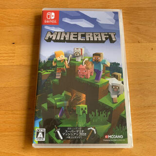 ニンテンドースイッチ(Nintendo Switch)の新品 マインクラフト Minecraft Switch版(家庭用ゲームソフト)