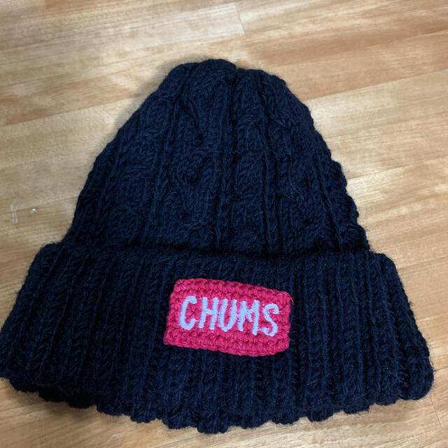 CHUMS(チャムス)のチャムス🌟ニット帽子 レディースの帽子(ニット帽/ビーニー)の商品写真