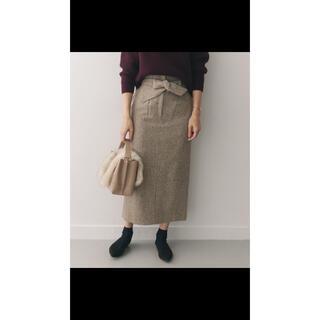 アーバンリサーチロッソ(URBAN RESEARCH ROSSO)のネップツイードIラインスカート(ロングスカート)