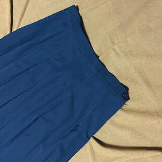 サンタモニカ(Santa Monica)のused タックプリーツスカート(ひざ丈スカート)