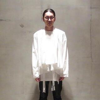SUNSEA - 最終値下げ Midorikawa 2017ss ボタンレスガウンシャツ