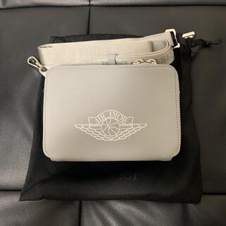 クリスチャンディオール(Christian Dior)の新品未使用 AIR DIOR JORDAN ショルダーバッグ  シルバー グレー(ショルダーバッグ)