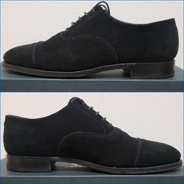 Crockett&Jones(クロケットアンドジョーンズ)のアローズ別注クロケット&ジョーンズ/KENTストレートチップ/スエードレザーUA メンズの靴/シューズ(ドレス/ビジネス)の商品写真