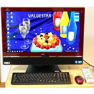 エヌイーシー(NEC)の  [NEC]VALUESTAR VW770/WG6R 一体型液晶PC(デスクトップ型PC)