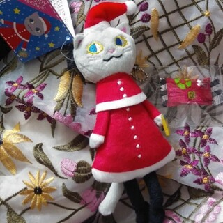 KALDI - カルディ クリスマス ネコチャーム