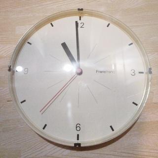 フランフラン(Francfranc)のフランフラン 壁掛け時計 Φ24cm(掛時計/柱時計)