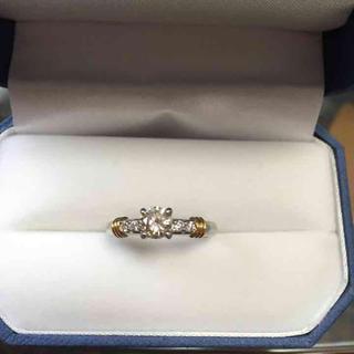 ダイヤモンドリング プラチナ900K18(リング(指輪))