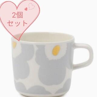 marimekko - マリメッコ ウニッコ コーヒーカップ2個セット