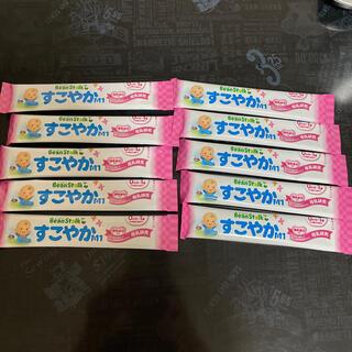 ユキジルシメグミルク(雪印メグミルク)のビーンスターク すこやかM1 10本(その他)