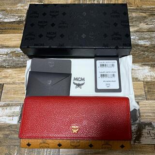 エムシーエム(MCM)のmcm 財布 長財布 三つ折り(財布)