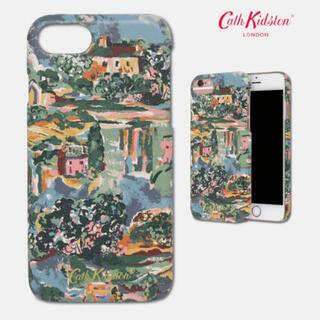 キャスキッドソン(Cath Kidston)のキャスキッドソン  iPhone  スマホケース  グリーングラス 絵画(iPhoneケース)