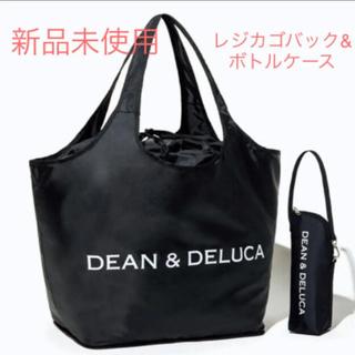 ディーンアンドデルーカ(DEAN & DELUCA)のDEAN&DELUCA エコバッグ&保冷ボトルケース レジカゴバッグ(エコバッグ)
