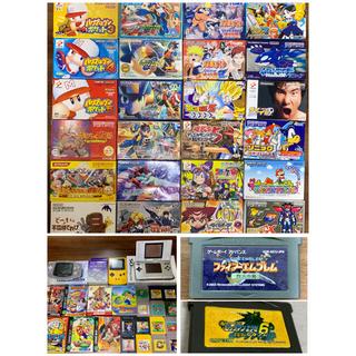 ゲームボーイアドバンス(ゲームボーイアドバンス)のGBAソフト25本&GBソフト22本+GBC,GBA,DS(まとめ売り)(携帯用ゲームソフト)