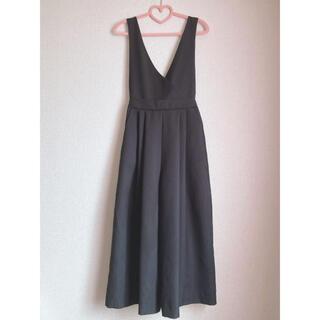 グレイル(GRL)のGRL 2wayワイドパンツオールインワン 美品 カジュアル 韓国ファッション(オールインワン)