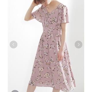プロポーションボディドレッシング(PROPORTION BODY DRESSING)のPBD フラワーワンピース(ロングワンピース/マキシワンピース)