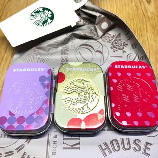 スターバックスコーヒー(Starbucks Coffee)の☆新品未開封☆スターバックス アフターコーヒーミント3個(菓子/デザート)