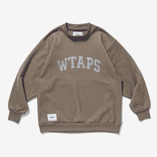 W)taps - WTAPS 20AW college mock neck スウェット