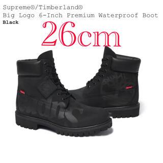 シュプリーム(Supreme)のSupreme Timberland Big Logo シュプリーム 26 黒(ブーツ)