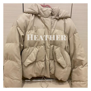 ヘザー(heather)の♡週末限定♡ ナカワタショートボアブルゾン♡(ブルゾン)