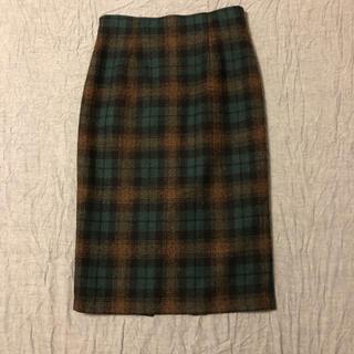 オニール(O'NEILL)のオニールオブダブリン チェック ペンシルスカート GB8(ひざ丈スカート)