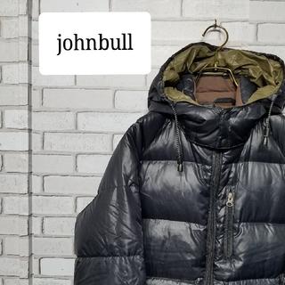 ジョンブル(JOHNBULL)のジョンブル johnbull ダウンジャケット M 黒 パーカー(ダウンジャケット)
