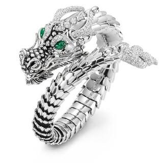 グリーンアイ リング ドラゴン 指輪(リング(指輪))