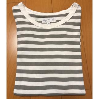 アニエスベー(agnes b.)のアニエスベー  ボーダーTシャツ(Tシャツ(長袖/七分))
