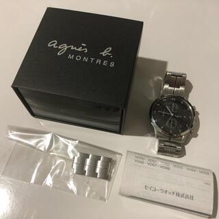 アニエスベー(agnes b.)のagnès b. メンズ腕時計 クロノグラフ(腕時計(アナログ))