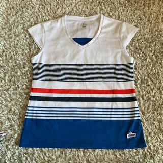 プリンス(Prince)の【美品】Prince テニスウェア トップス Tシャツ プリンス スポーツウェア(ウェア)