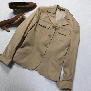 セオリー(theory)のtheory セオリー テーラードジャケット 2 日本製 キャメル (テーラードジャケット)
